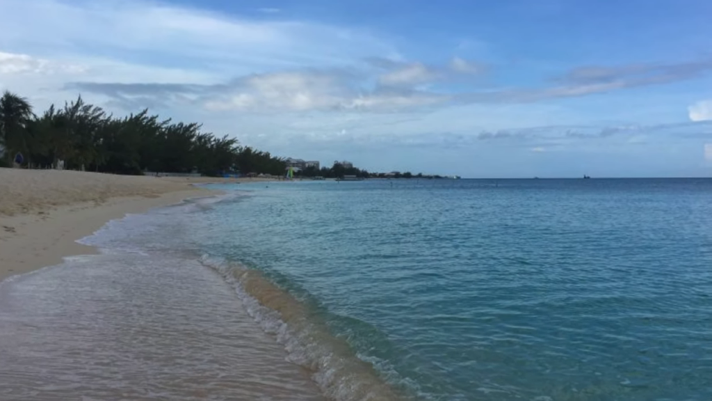 Vacationing in the Cayman Islands
